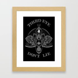 -Third Eye Don't Lie- Framed Art Print