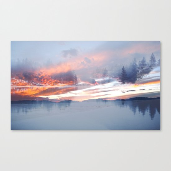 Life of Color Canvas Print