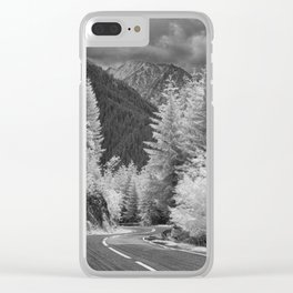 Transfagarasan #8 Clear iPhone Case