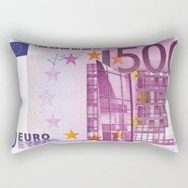 500 EURO Rectangular Pillow