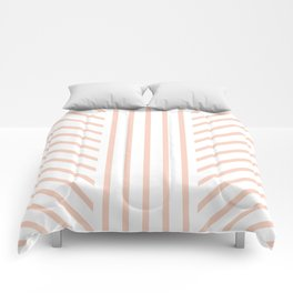 Lined Blush Comforters