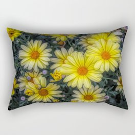 A Pop of Color Rectangular Pillow