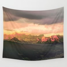 Escaping  -  Mountains - Dachstein, Austria Wall Tapestry