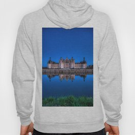 The castle of Chambord at night Hoody