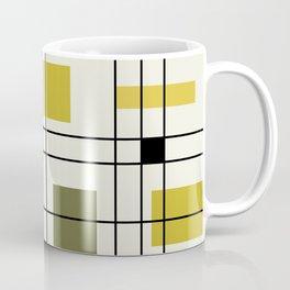 1950's Abstract Art Chartreuse Coffee Mug