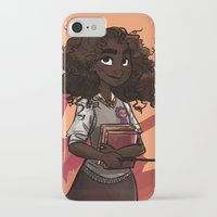 hermione iPhone & iPod Cases featuring Hermione by DellBelle