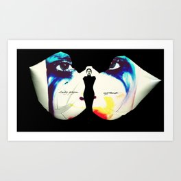 I Live For The Applause Art Print