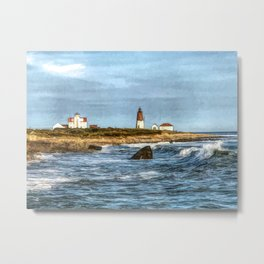 Soothing Ocean Sounds and Sights Metal Print