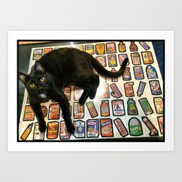HerBee Wacky packs Art Print