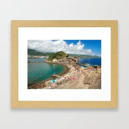 Islet of Vila Franca do Campo Framed Art Print