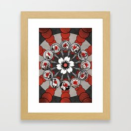 Chinese Zodiac Framed Art Print
