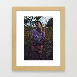 Wild Bliss Framed Art Print