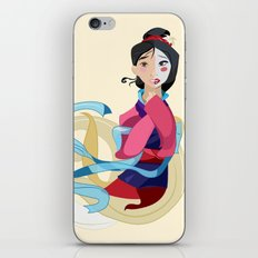 Mulan: Reflection iPhone & iPod Skin