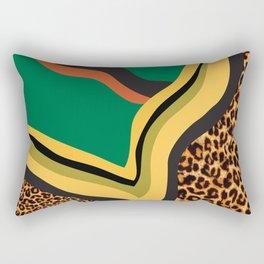 Leopard print Rectangular Pillow