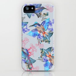 bee eaters pattern iPhone Case