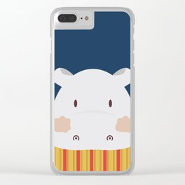 Hipolito Hippo Clear iPhone Case