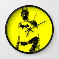 bats Wall Clocks featuring Bats!! by Darthdaloon