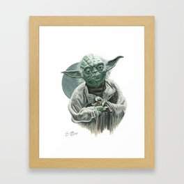 Judge Me By My Size, Do You? Framed Art Print