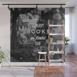 So many books, so little time Wall Mural
