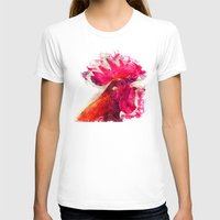 rooster T-shirts featuring Rooster by jbjart