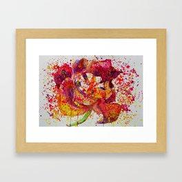 Dying Tulip Framed Art Print