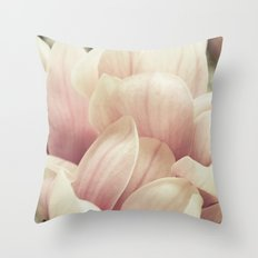 A Waterfall of Blooms Throw Pillow