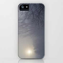 Foggy Morning by the River - The Peace Collection iPhone Case