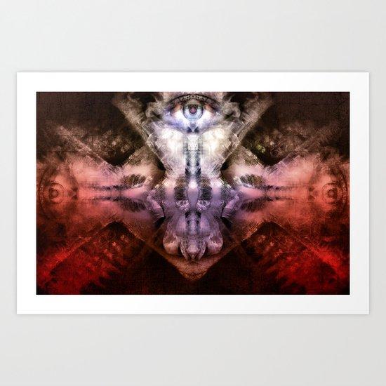 Treyebunal Art Print