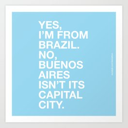 From Brazil II Art Print