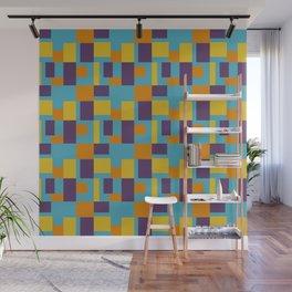 Googie Pixels Wall Mural