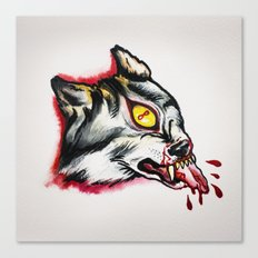 Cyclopes wolf  Canvas Print
