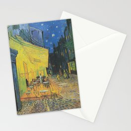 Vincent Van Gogh - Café Terrace at Night 1888 Stationery Cards