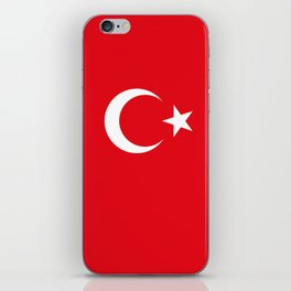 Flag of Turkey iPhone Skin