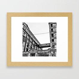 Abandoned 1:1 Framed Art Print