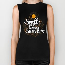 Smells Like Sunshine Biker Tank