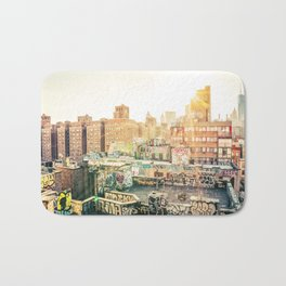 New York City Graffiti Bath Mat