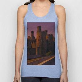 Conway (Conwy) Castle (Digital Art) Unisex Tank Top