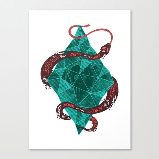 Mystic Crystal Canvas Print