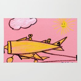 Aircraft Carrier Landing Rug