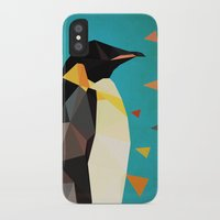 penguin iPhone & iPod Cases featuring penguin by gazonula