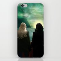 regina mills iPhone & iPod Skins featuring Swan Queen - Emma & Regina set sail by Two Swen Idiots