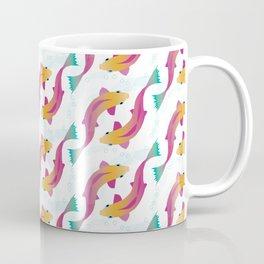 Wriggly Fish - Multicoloured Coffee Mug