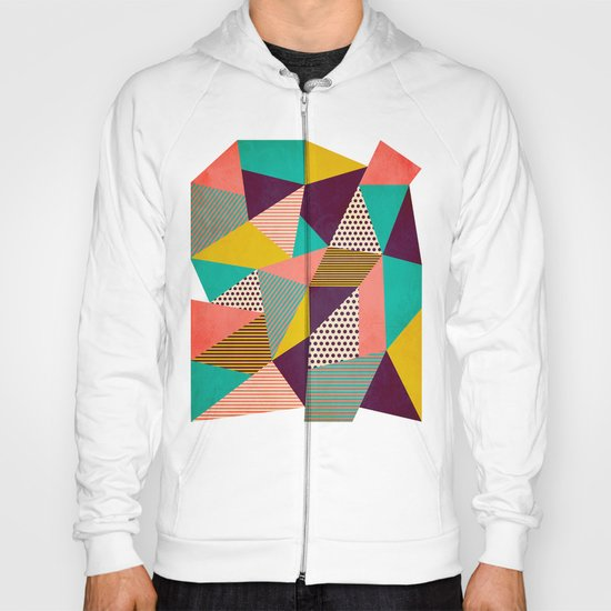 Geometric Love II Hoody