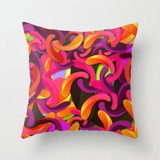 Good Vibes Background Throw Pillow
