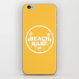 Beach Babe iPhone Skin
