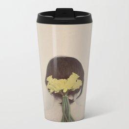 Flowers in her Hair Metal Travel Mug