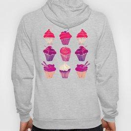 Cupcakes – Fuchsia Palette Hoody