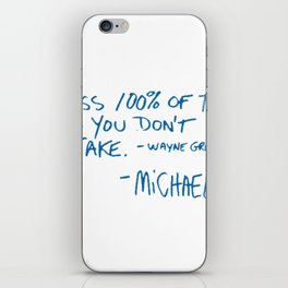 Office Quote iPhone Skin
