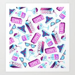 summer vibes Art Print