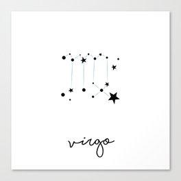 Virgo - Vierge Canvas Print